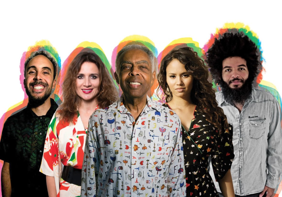 Gilberto Gil and his band