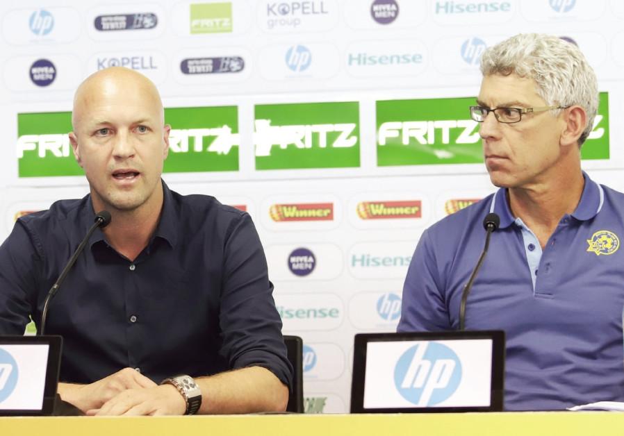Cruyff to depart Maccabi Tel Aviv after season