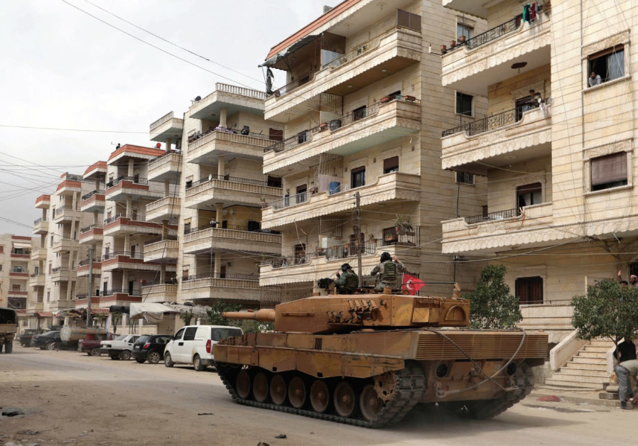 Why is Turkey's presence in Afrin, Syria any different than the West Bank?