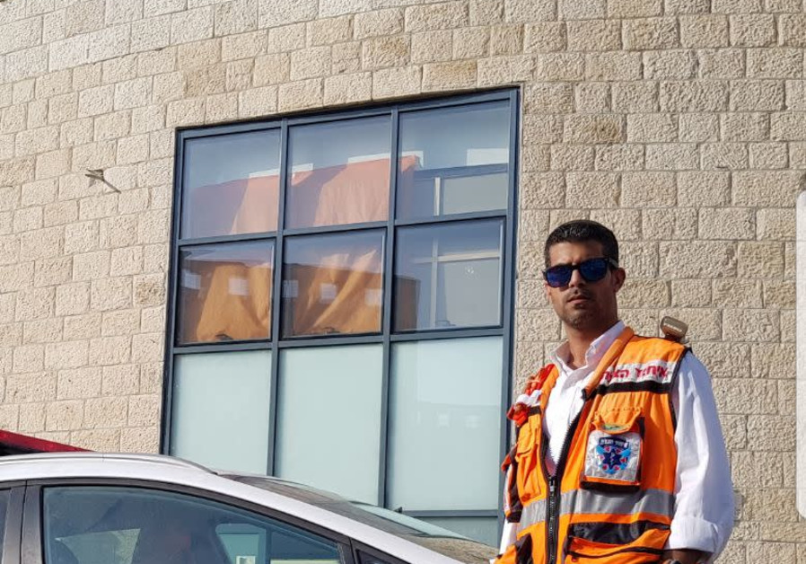 Doron Mah-Tov in his United Hatzalah uniform. (Credit:Courtesy)