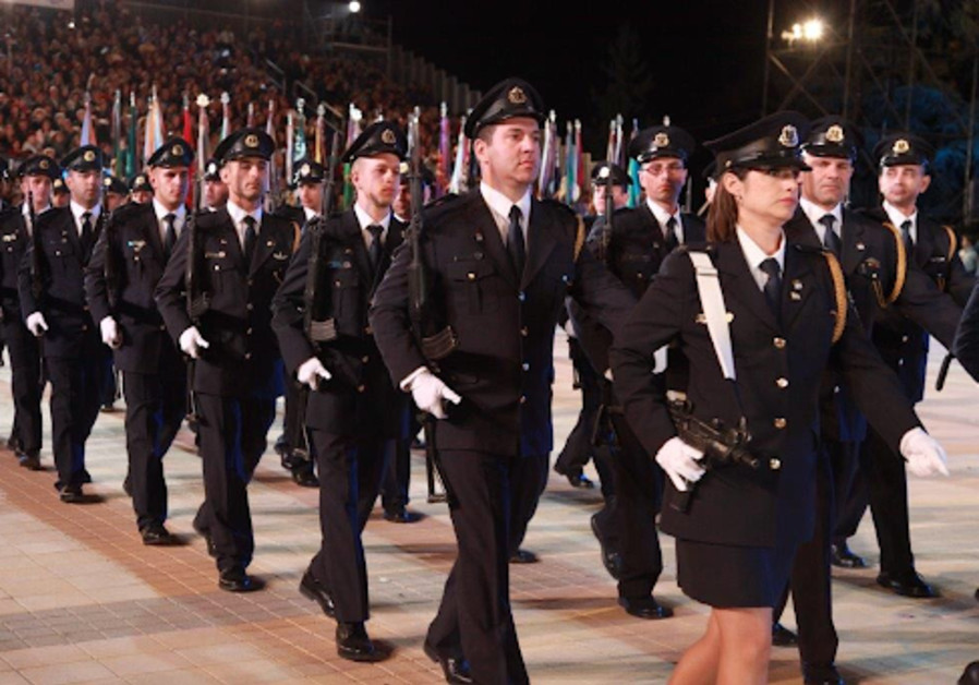 The Knesset Guard marching in past Independence Days