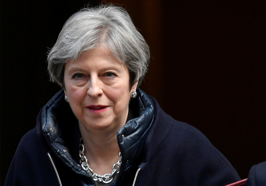 British prime minister speaks out against antisemitism in Passover message