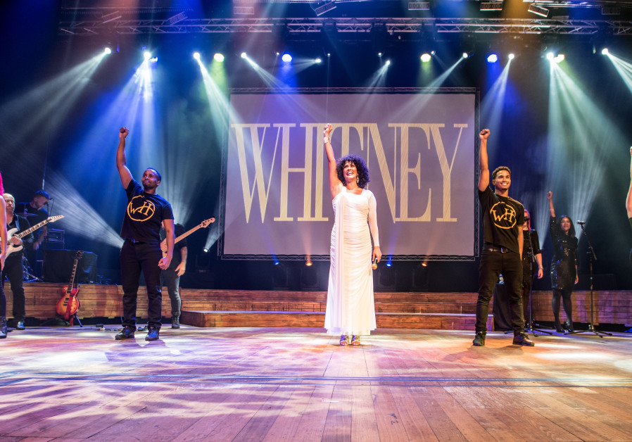 The Greatest Love of All: The Whitney Houston Show, in Tel Aviv, April 2018