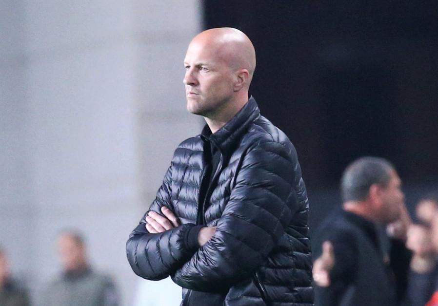 Coach Jordi Cruyff