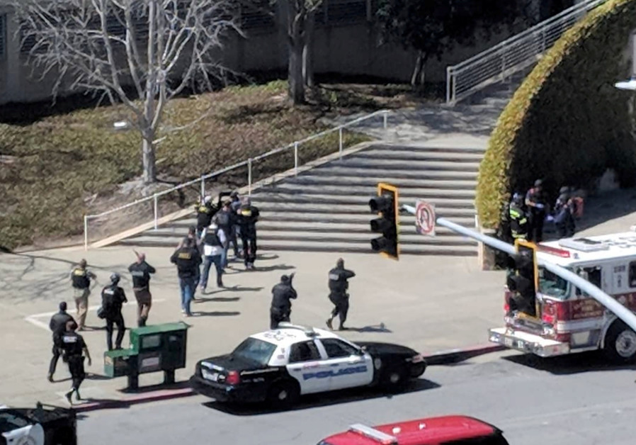 At least three injured as female suspect opens fire at YouTube headquarters