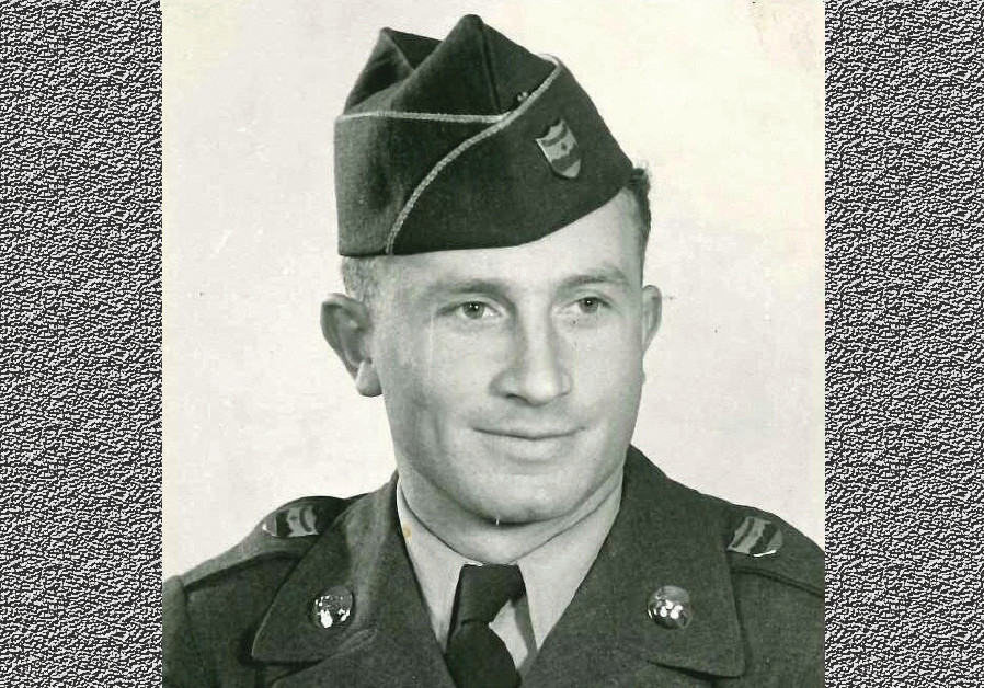 Samuel Gutman in his US army uniform