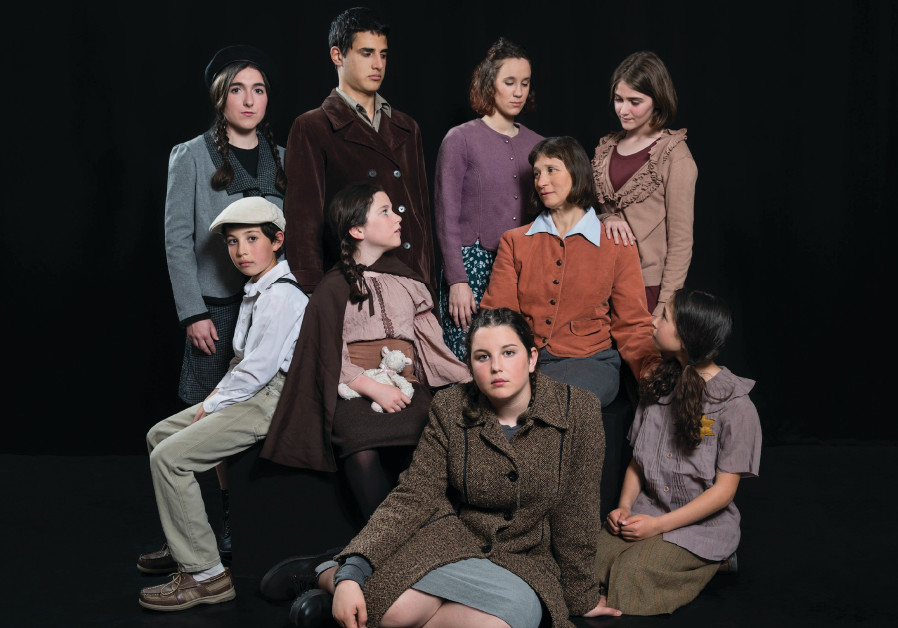 Child actors in J-Town Playhouse's 'I Never Saw Another Butterfly'
