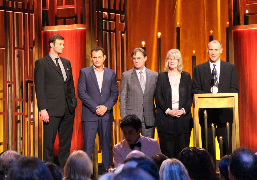 The cast and crew of The Americans at the 74th Annual Peabody Awards