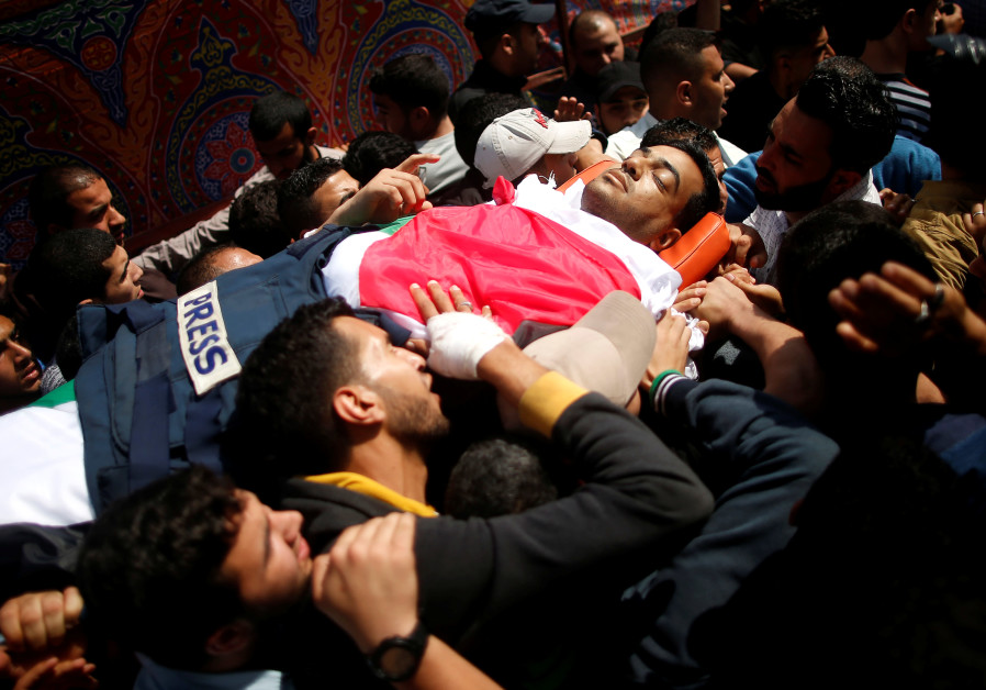 Palestinians wounded at Gaza-Israel border protests