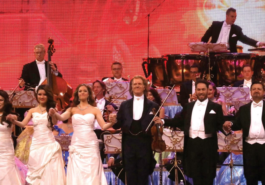 The Andre Rieu extravaganza: A first for Israel