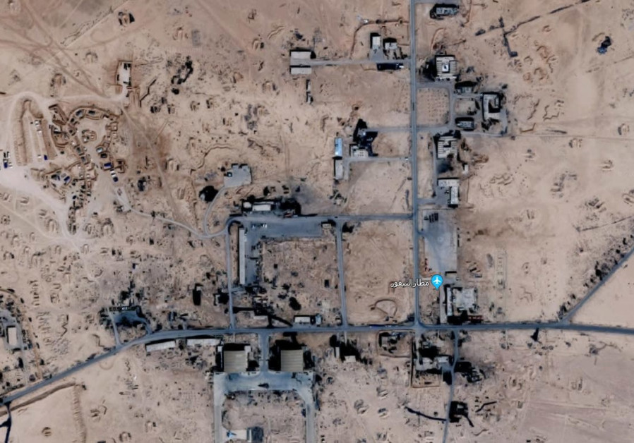 First photos emerge of Syrian base allegedly targeted by Israeli air strike