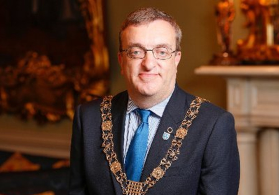 Israel attempted to ban Dublin's Lord Mayor from entering the country