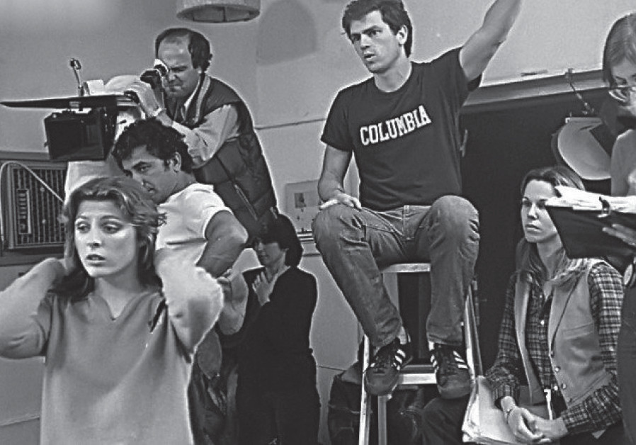 AVI NESHER (in the Columbia T-shirt) was just 23 when he started directing the 'The Troupe'