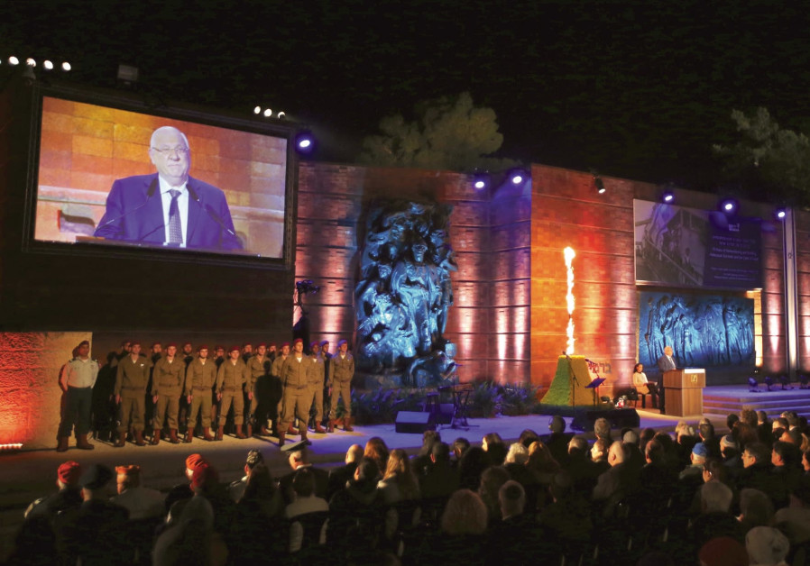 Rivlin at Yad Vashem: Justice can't grow where our brothers burned