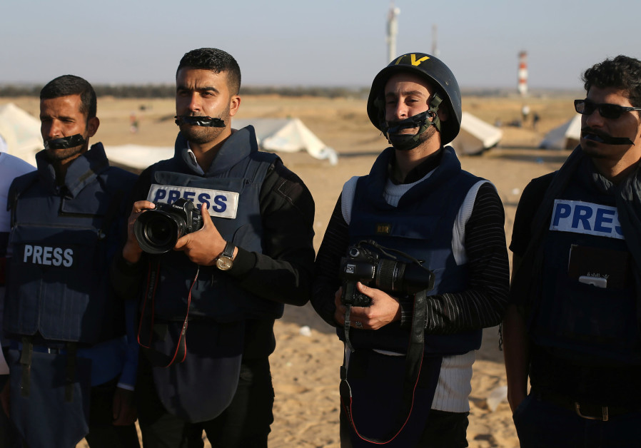Palestinian reporter, shot by IDF troops at Gaza protest, dies