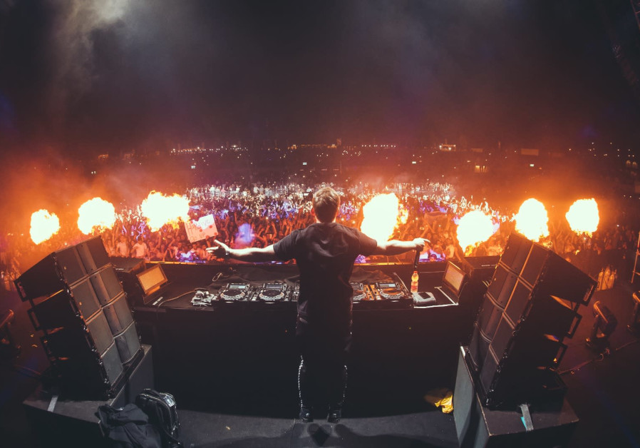 Dj hardwell returns to israel for a night to remember israel news dj hardwell at live park rishon lezion 2018 thecheapjerseys Gallery