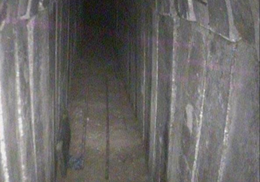 'Ready for use' Hamas tunnel destroyed by IDF