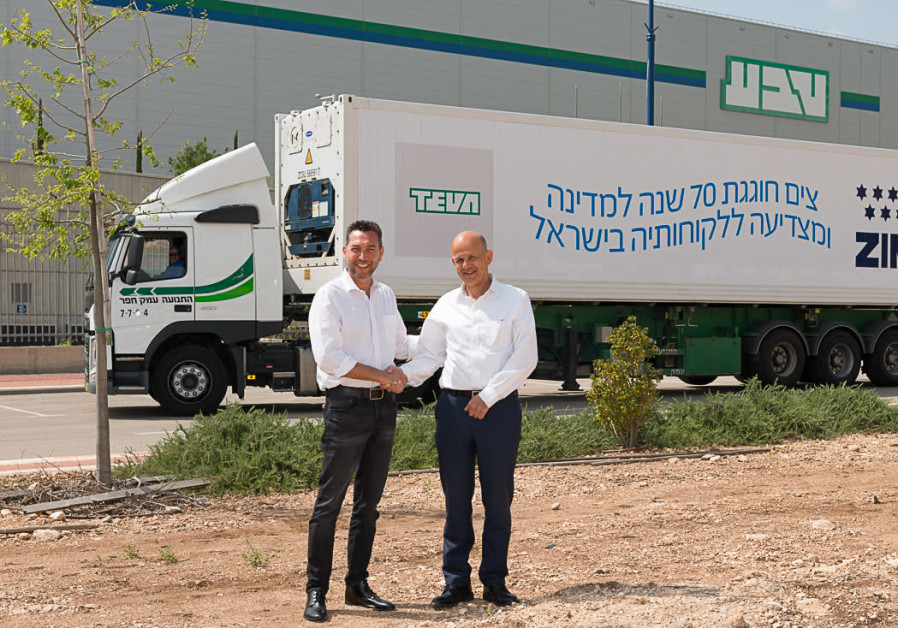 ZIM CEO Eli Glickman, to Teva Israel CEO Avinoam Sapir