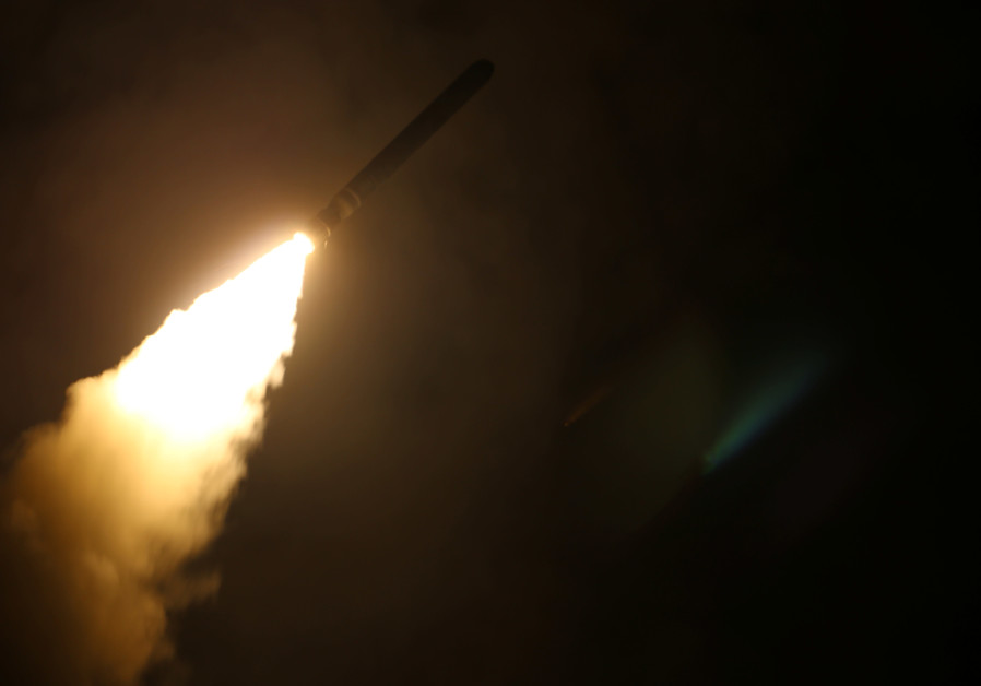 Syria's air defenses respond to missile attack over Homs