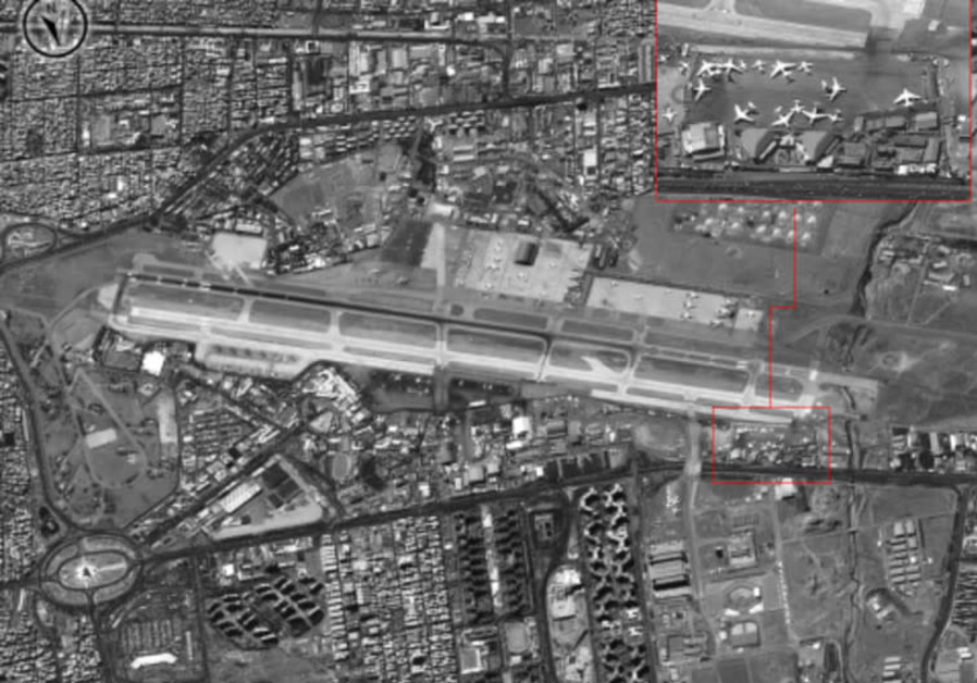 Mehrabad airfield in Tehran is used by Iran's Revolutionary Guards unit to ship arms to Syria
