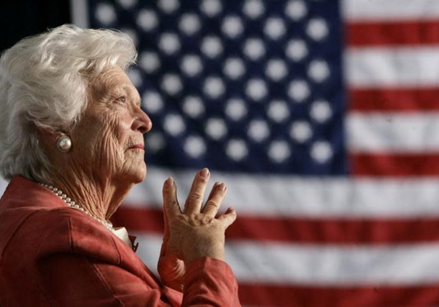 Barbara Bush, wife and mother of U.S. presidents, dies at 92