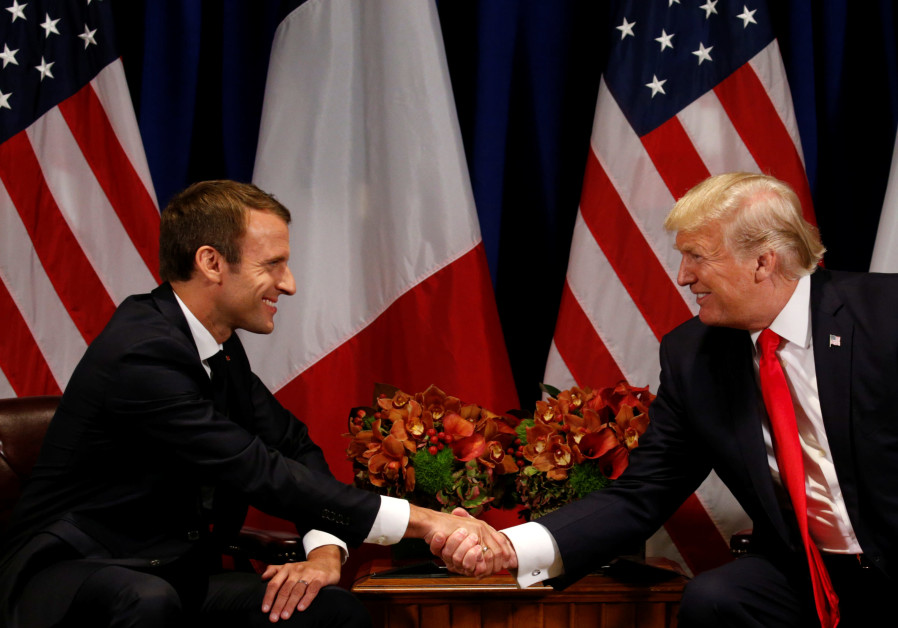 Macron visit to U.S. seen as critical to fate of Iran deal