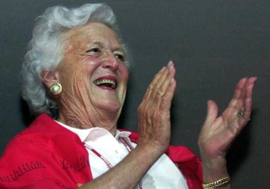U.S. Jews remember former first lady and American 'matriarch' Barbara Bush