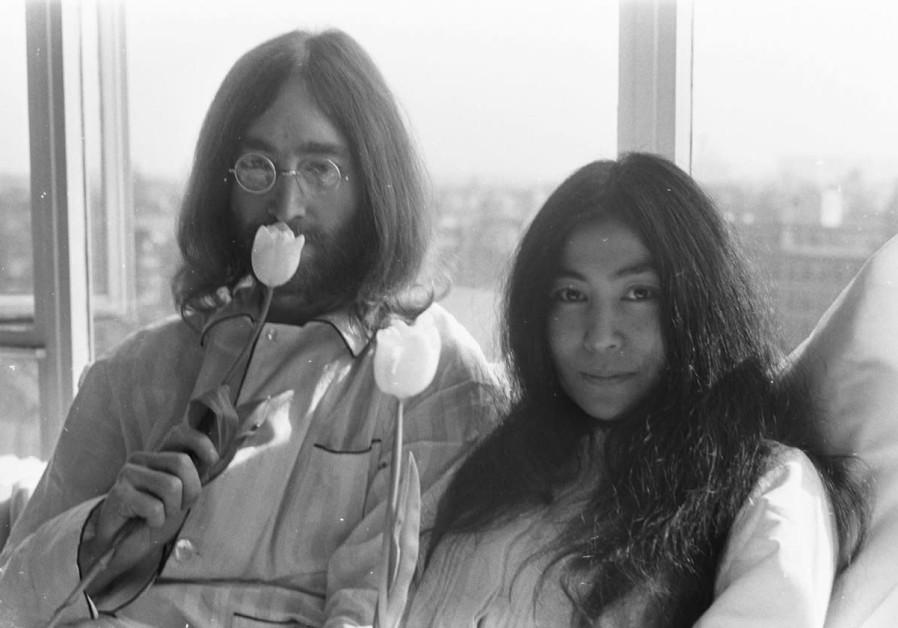Self-portrait of John Lennon as Hitler on sale for 54k