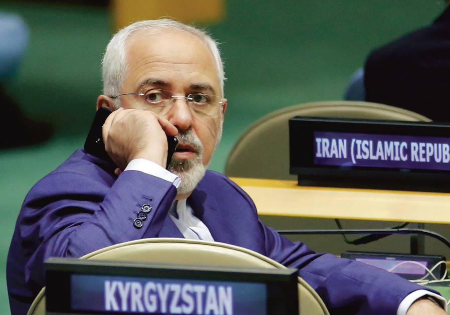 Zarif condemns U.S. intervention in Syria, calls for 'dialogue'