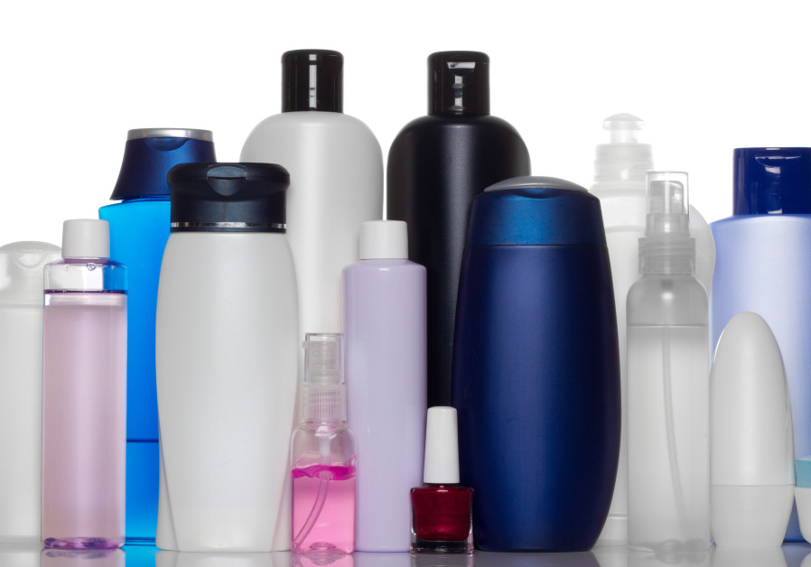 Collection of bottles of health and beauty products [Illustrative].