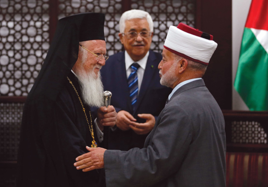 Palestinian religious leader calls Jews in Jerusalem 'colonialist cancer'