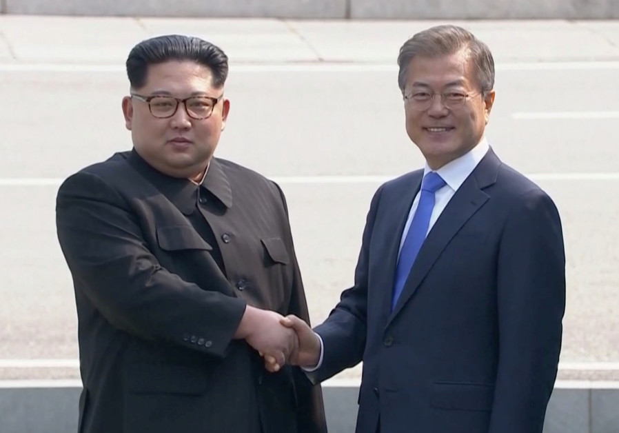 Declaring the end of war, leaders of two Koreas aim for denuclearization
