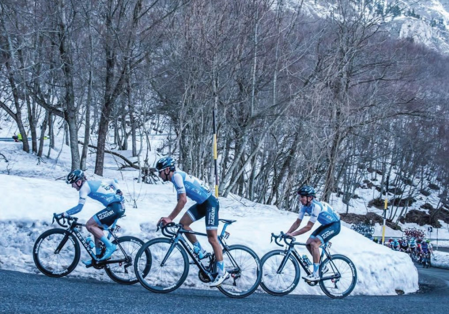 The grand Giro d'Italia graces the Holy Land