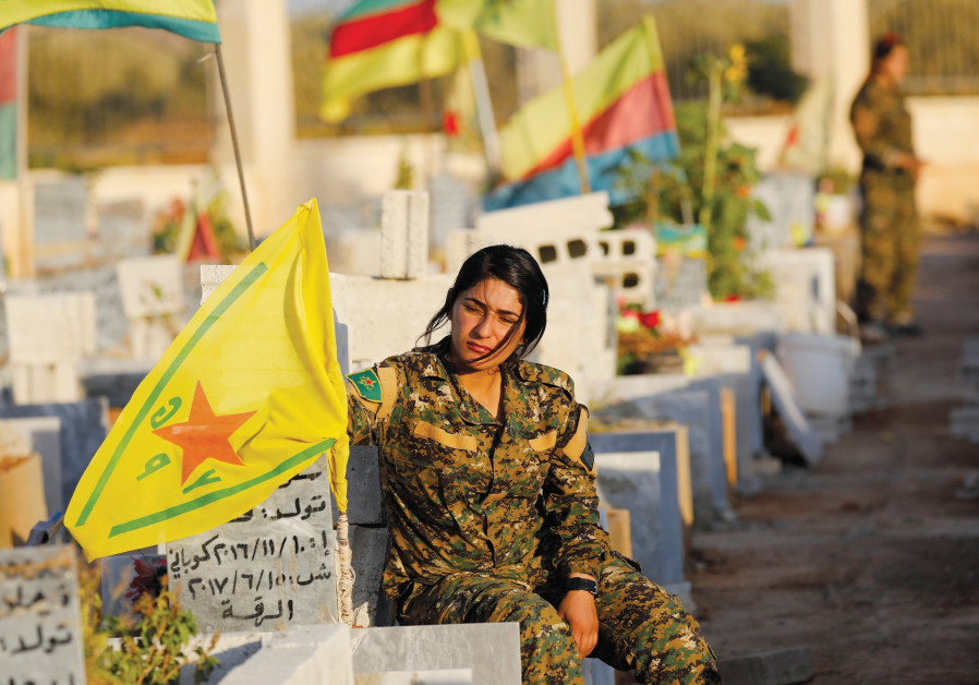 Report: Kurdish-led Syrian Democratic Forces meet with Syrian government