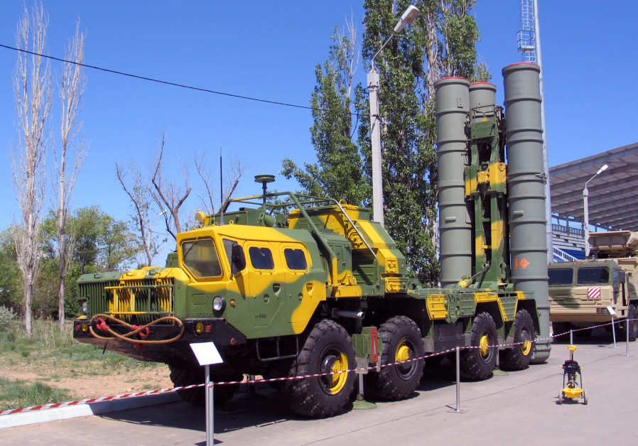 The self-launching component of the S300 surface-to-air missile
