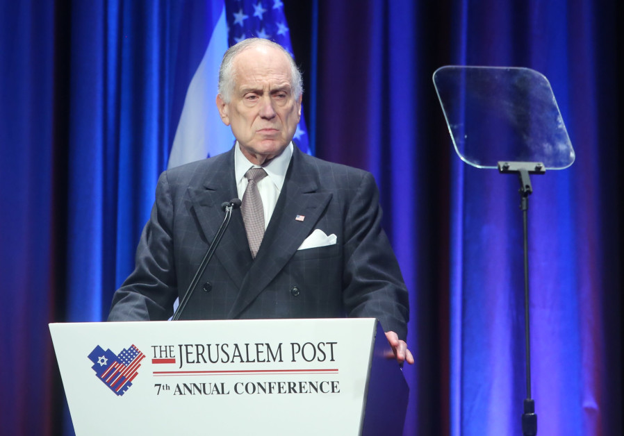 World Jewish Congress President Ronald Lauder at the 7th Annual JPost Conference in NY
