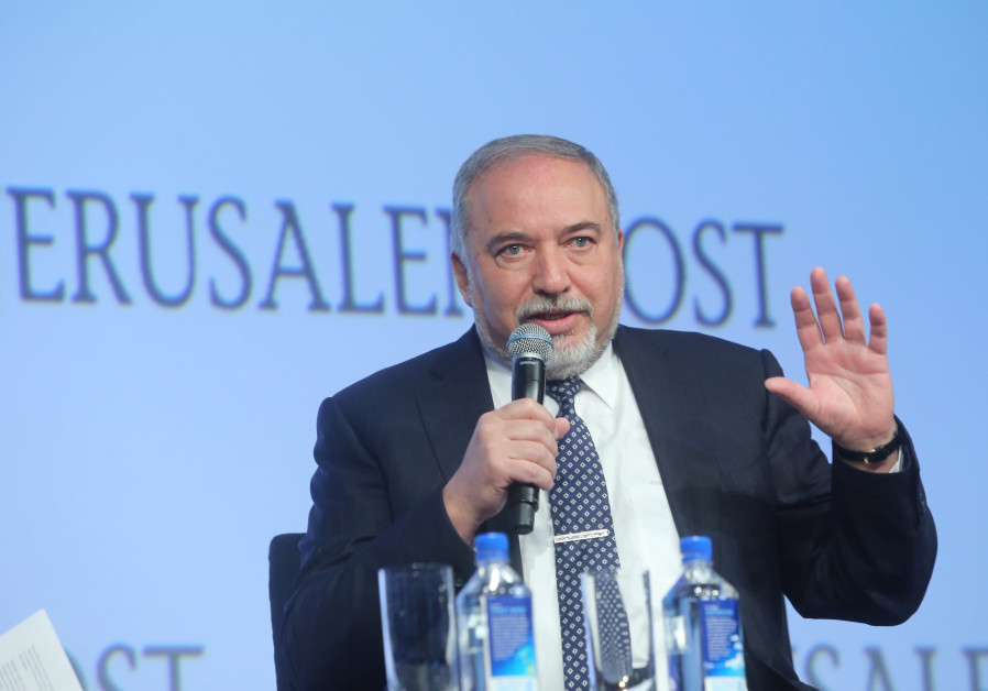 Avigdor Liberman, Defense Minister speaking at the 7th Annual JPost Conference in NY