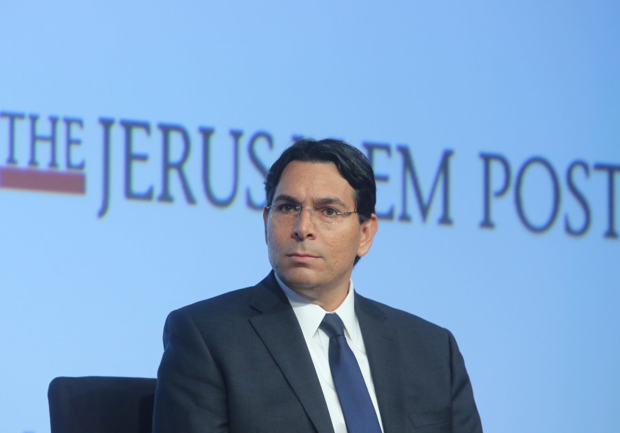 Ambassador Danny Danon, Permanent Representative of Israel to the UN at the 7th Annual JPost Confer