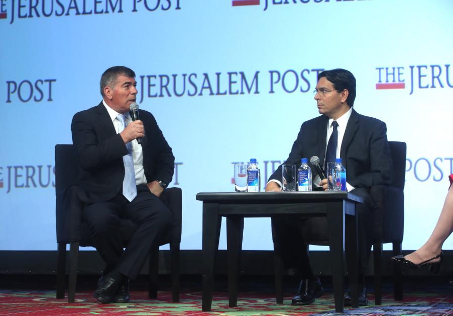 A conversation between General (Ret.) Gabi Ashkenazi, former IDF Chief of General Staff and Chairman