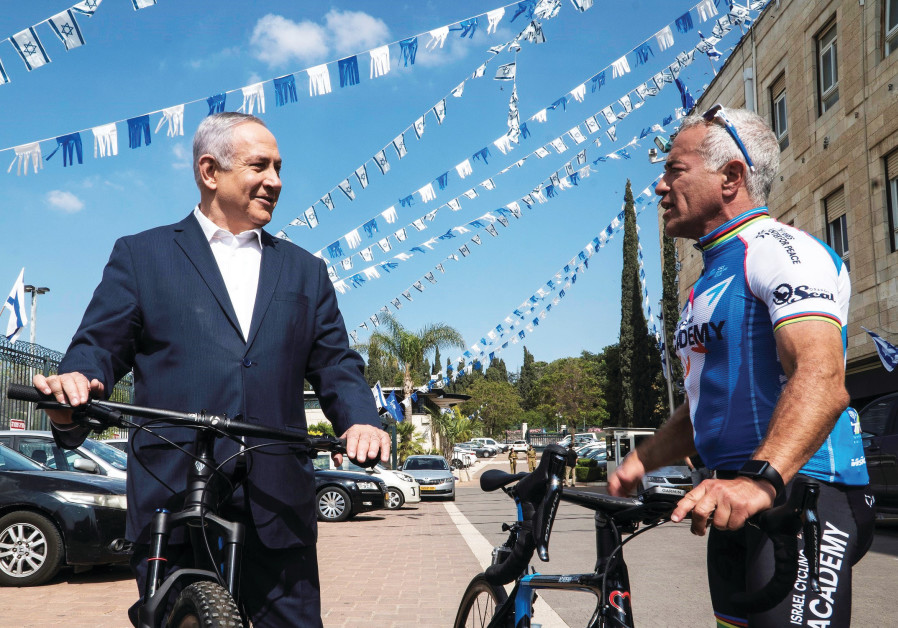 Israel's cycling godfather climbs mountains