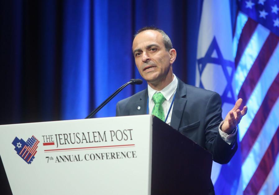Prof. Ronni Gamzu, the CEO of Tel Aviv's Sourasky Medical Center.