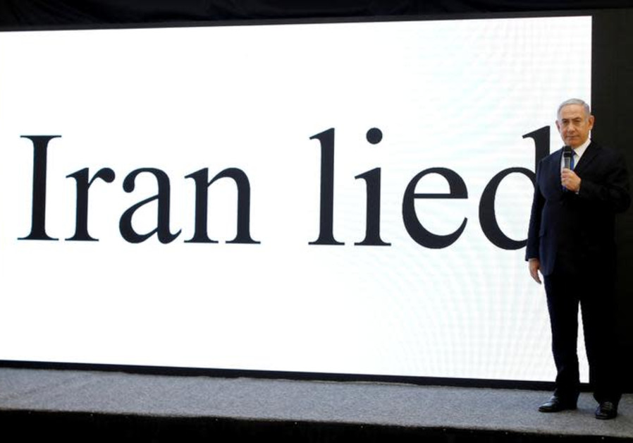 WATCH: Netanyahu unveils secret Iranian nuclear program