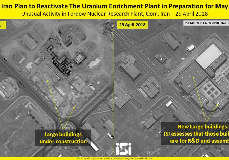 Iran uranium enrichment site opens for first time in 2 years, images show