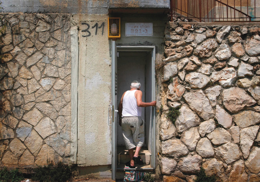 Rocket defense needs Iron Dome and concrete rooms