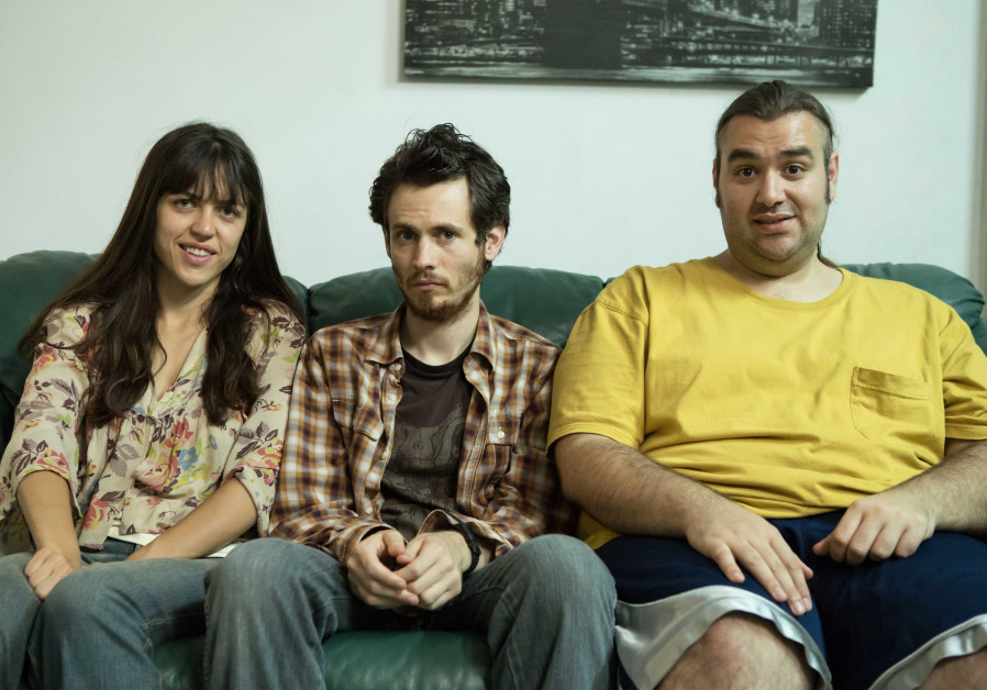 Neomi Levov, Niv Majar and Ben Yosipovich in the Yes show On the Spectrum.