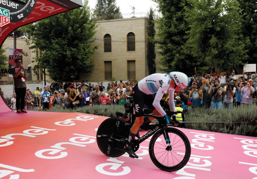 Giro d'Italia, Mahmoud Abbas and Jerusalem