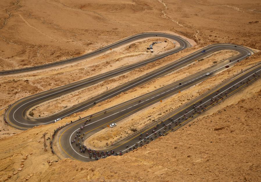 Giro d'Italia finishes Israel race in Eilat