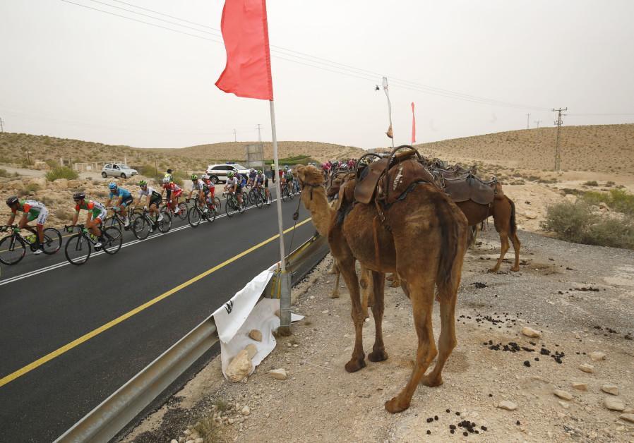 Palestinians condemn UAE, Bahrain presence in cycle race in Israel