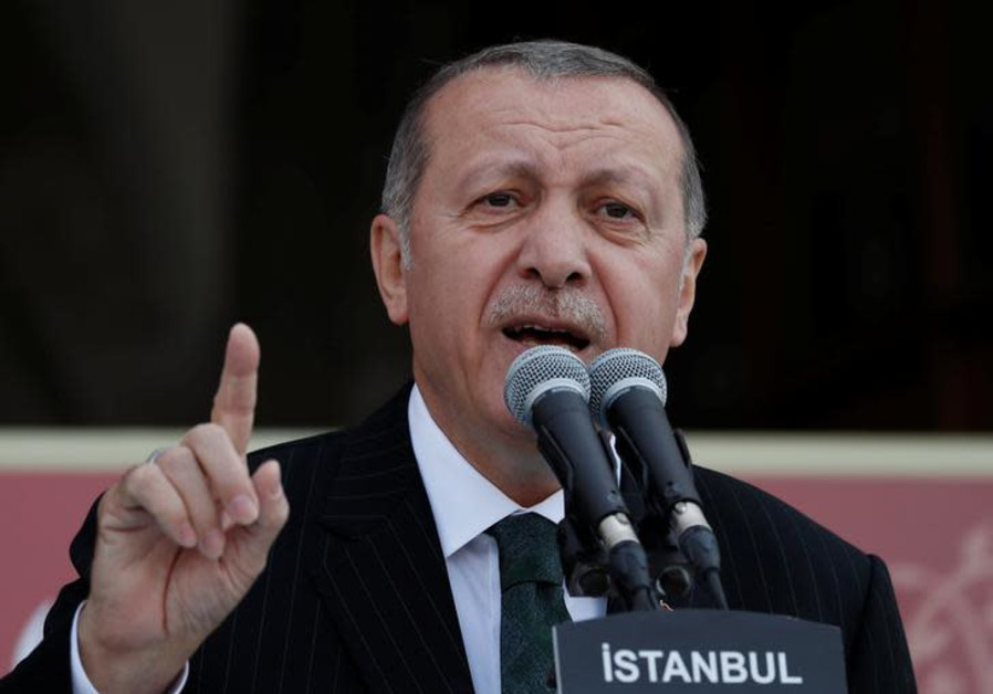 Erdogan: Turkey will not allow Israel to steal Jerusalem from Palestinians