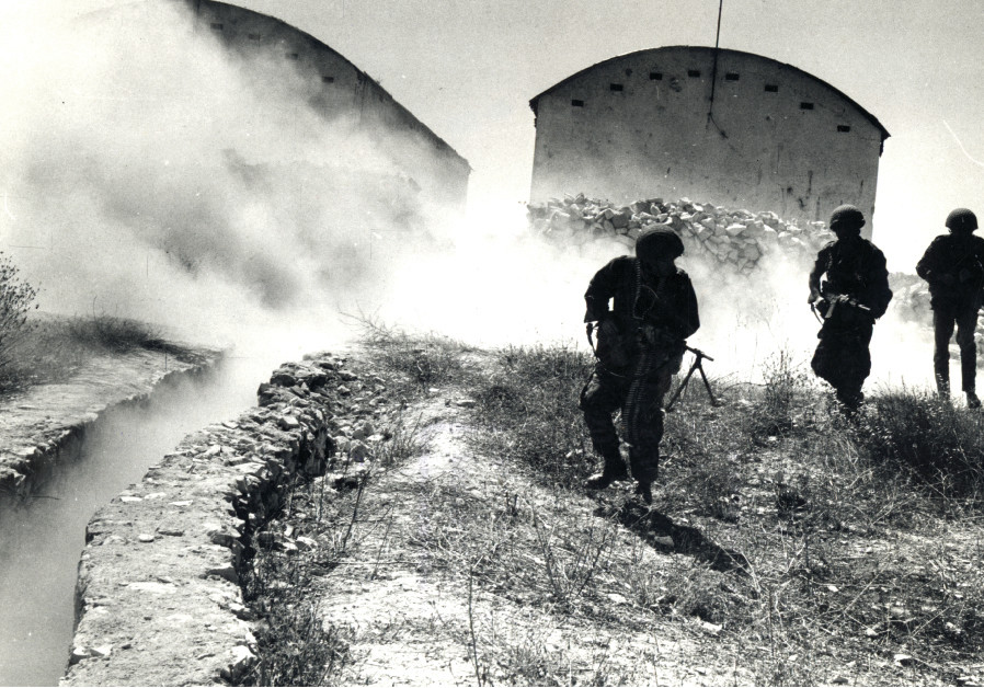 FIGHTING AT Ammunition Hill, site of one of the fiercest battles of the Six Day War